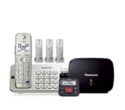 Panasonic Bluetooth Powered Link to Cell  panasonic kx tge274s with range extender and call blocker