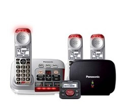 Panasonic DECT 6 0 3 Handsets panasonic kx tgm450s plus 2 kx tgma45s with range extender and call blocker