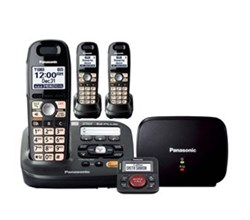 Panasonic DECT 6 0 3 Handsets panasonic kx tg6593t with range extender and call blocker