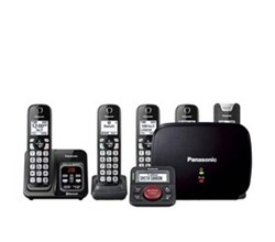 Panasonic Bluetooth Powered Link to Cell  panasonic kx tgd585m2 with range extender and call blocker