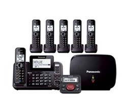 Panasonic Multi Line Phones panasonic kx tg9552b plus kx tga950b with range extender and call blocker