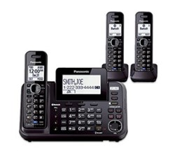 Panasonic DECT 6 Multi Line Phones Panasonic KX TG9542B 1 KX TGA950B
