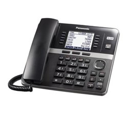 Panasonic 4 Line Corded Phones panasonic kx tgw420b