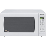 """Panasonic NN-H765WF Brand New Includes One Year Warranty, Panasonic NN-H765WF Full-Size Microwave Oven with Inverter Technology has a 1.6 cubic-foot capacity and 1250 watts of power, this full-sized microwave oven provides quick and easy meal preparation"