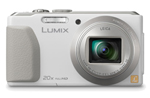 Panasonic DMC-ZS30W Long Zoom Digital Camera