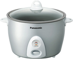 """Panasonic SR-G18FG Brand New Includes One Year Warranty, The Panasonic SR-G18FG 10-cup rice cooker makes up to 20 cups of cooked rice at the push of a button"