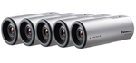 Panasonic BTS WV-SP105 (5 Pack) Indoor Bullet Camera