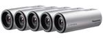 Panasonic BTS WV-SP102 (5 Pack) Indoor Bullet Camera
