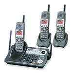 Panasonic KX-TG6500B (2) KX-TGA650B-R 2-Line 5.8GHz Cordless Phone / A