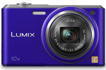 Panasonic DMC-SZ3V-R Compact Zoom Camera