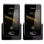 Panasonic KX-PRXA10 (2 Pack) Additional Digital Cordless Handset 86605-6