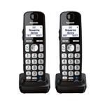 Panasonic KX-TGEA20B (2 Pack) Additional Digital Cordless Handset 86654-6