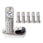 Panasonic KX-TGD216N 6 Handset Cordless Phone