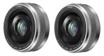 Panasonic H-H020AS (2 Pack) Lumix G 20mm / F1.7 II ASPH. Lens SILVER