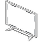 Panasonic BTS TYAR65P9W Anti-Glare Screen Filter