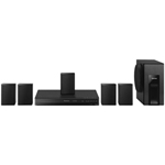Panasonic SC-XH105-N 5.1 Channel 300W 1080p Home Theater System 93619-5