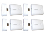 Panasonic QE-PL202AA-W-4 Pack Mobile Battery Charger