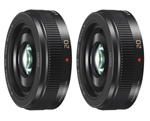 Panasonic H-H020AK-2 Pack 20mm / F1.7 ASPH Lense