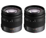 Panasonic H-FS014045-2 Pack Panasonic Lumix G Vario Standard Zoom Lens
