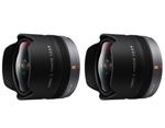 Panasonic H-F008-2 Pack Panasonic LUMIX G FISHEYE Lens