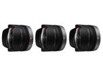 Panasonic H-F008-3 Pack Panasonic LUMIX G FISHEYE Lens